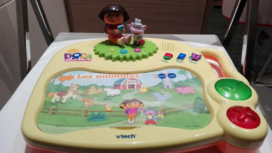 Imagen Dora Exploradora  en Ingles y castellano.