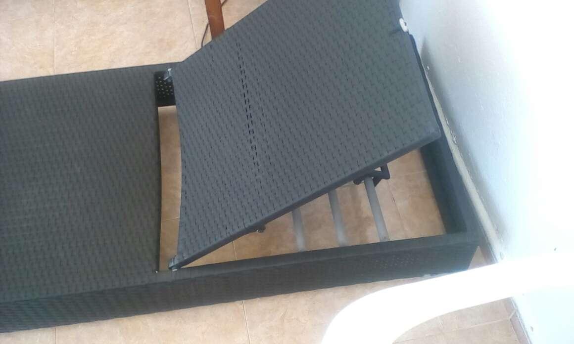 Imagen producto Amaca reclinable negra 2