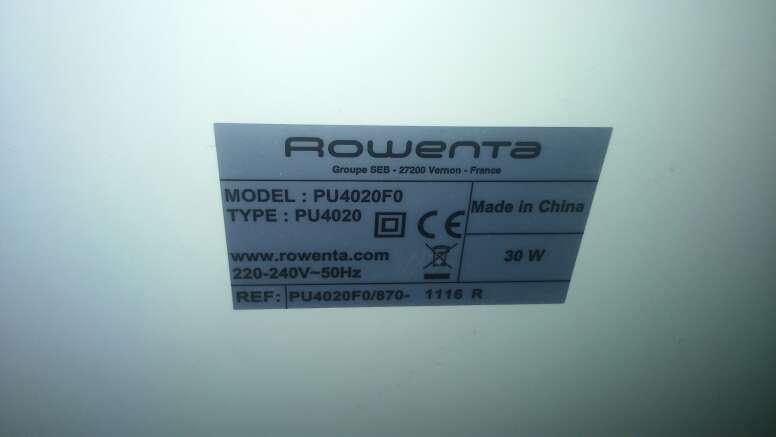Imagen producto Purificador de aire Rowenta PU4020 3