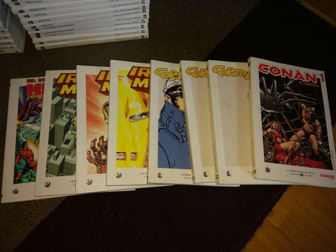 Imagen Colección completa héroes del cómic