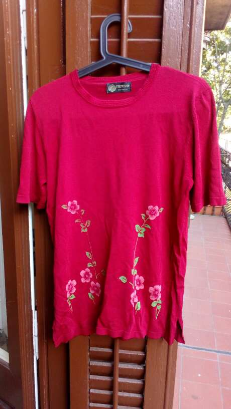 Imagen Camiseta vintage flores