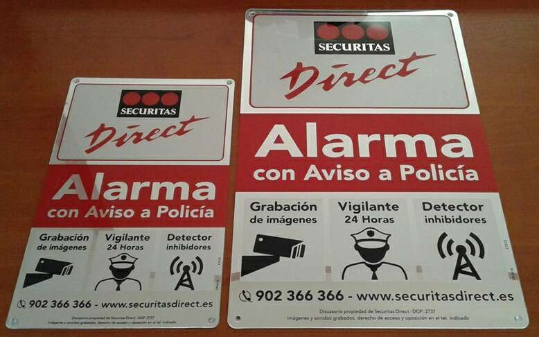 Imagen Securitas direct, alarma placas