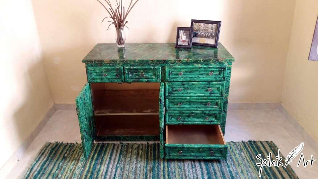 Imagen producto Mueble pintado a mano 2