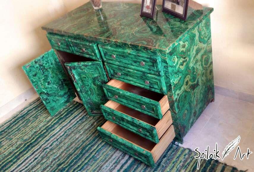 Imagen producto Mueble pintado a mano 4