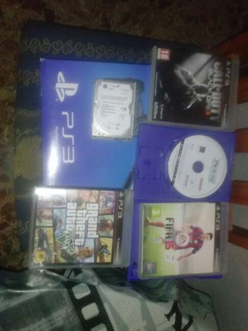 Imagen ps3 super slim 500gb cambio o vendo