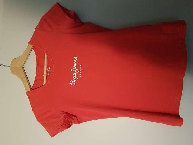 Imagen Camiseta Pepe Jeans roja