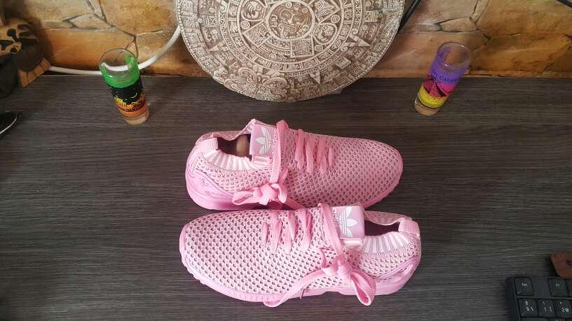 Imagen producto Zapatillas Adidas Tela De verano nuevas a estrenar N37 y N39 disponible  3