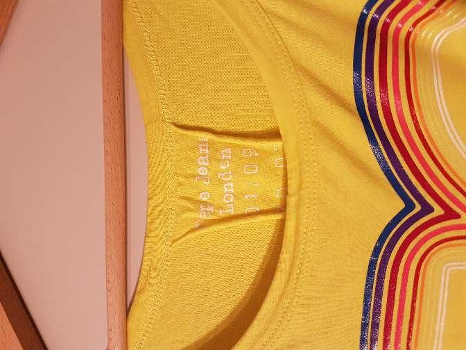 Imagen producto Camiseta Pepe Jeans Amarillo  2