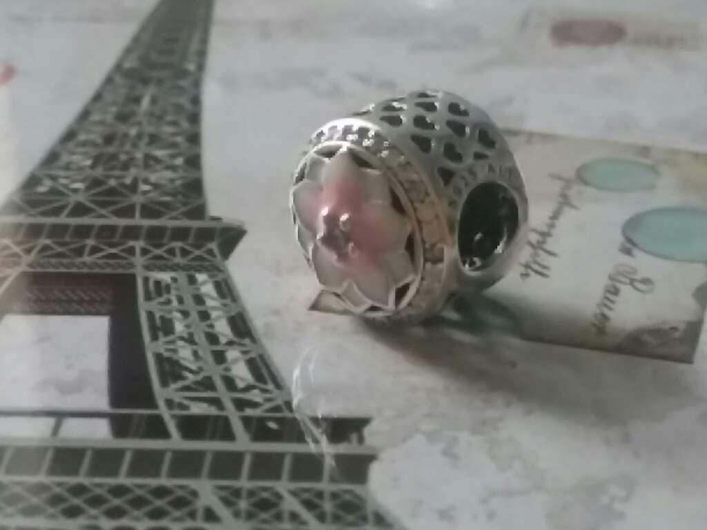 Imagen producto Charms (Flor de Rosa)  4