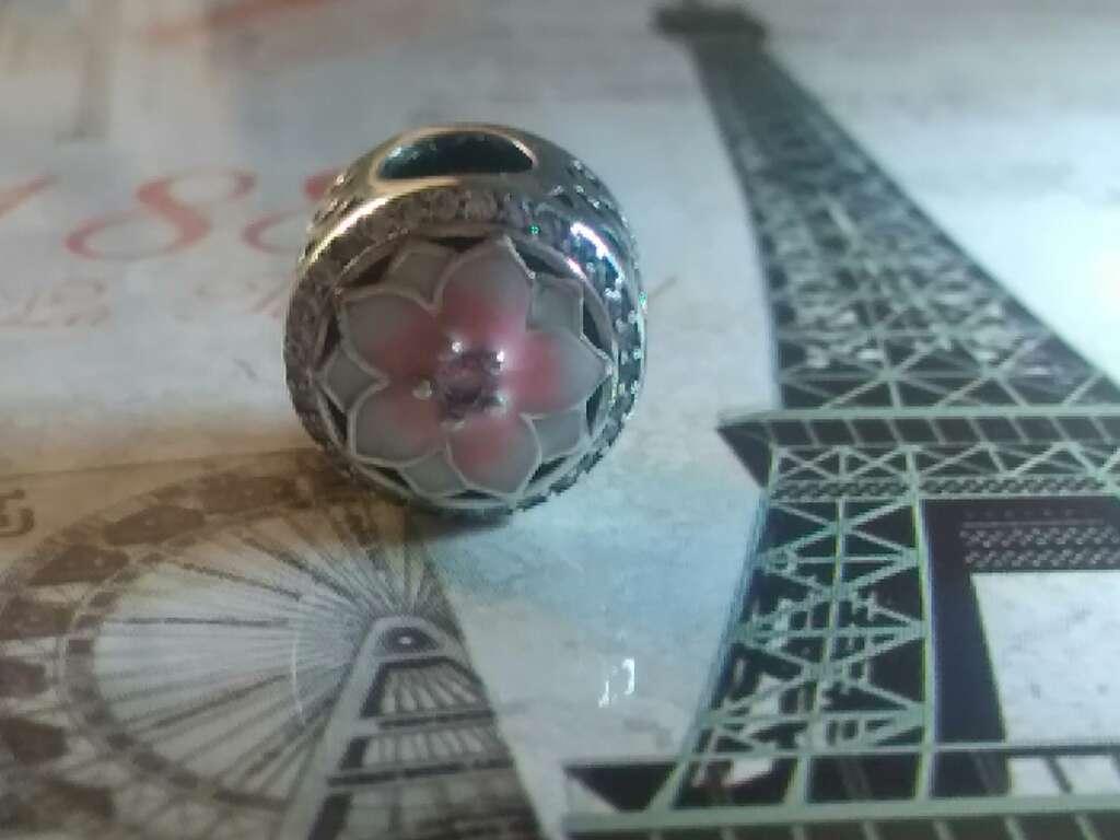 Imagen producto Charms (Flor de Rosa)  3
