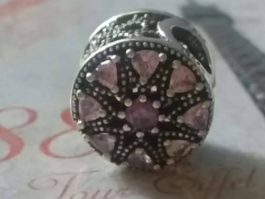 Imagen producto Charms (CZ Rosa)  1