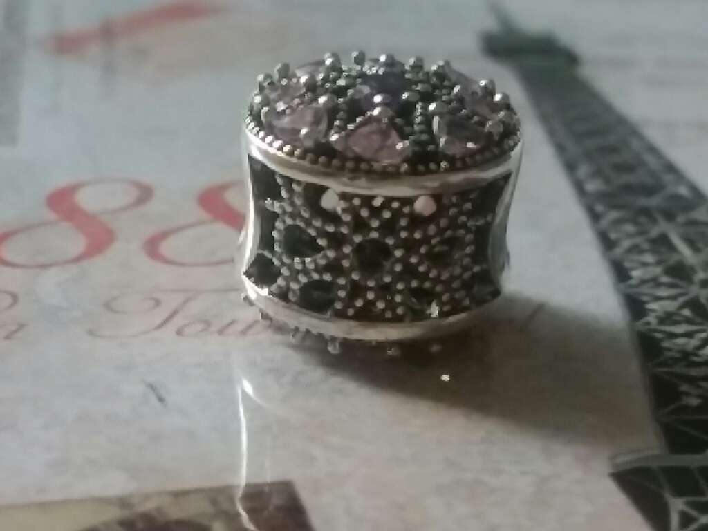Imagen producto Charms (CZ Rosa)  4
