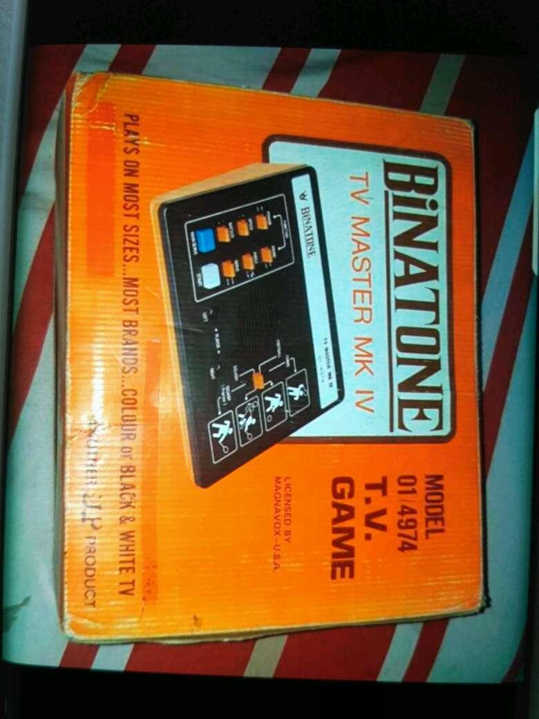 Imagen Consola Vintage Años 80
