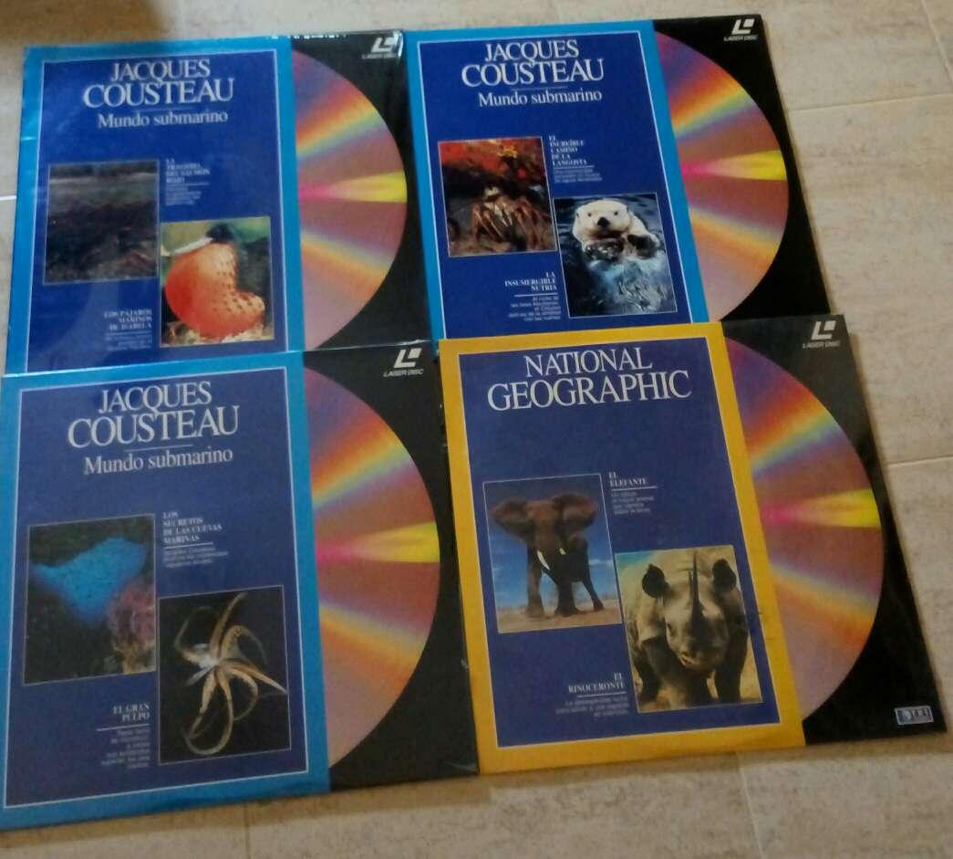 Imagen discos Laserdisc National geografic