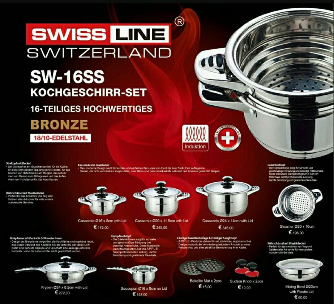 Imagen Nueva batería de cocina de 16 piezas 85 €