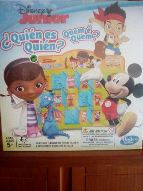 Imagen Juego quién es quién Disney