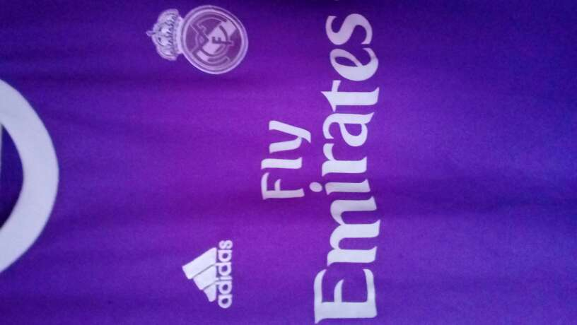 Imagen Camiseta Real Madrid CF.