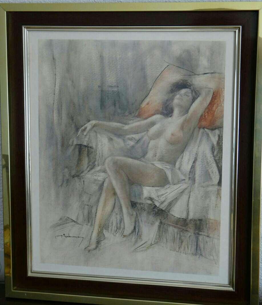 Imagen Cuadro mujer Semi-Desnuda