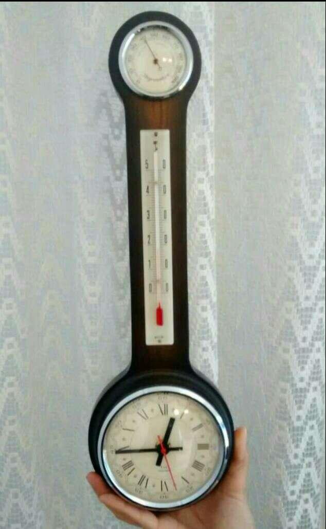 Imagen producto Reloj- Termómetro e Higrómetro 3