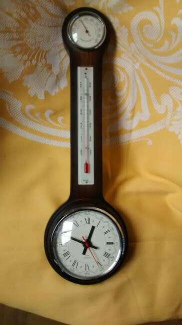 Imagen producto Reloj- Termómetro e Higrómetro 2