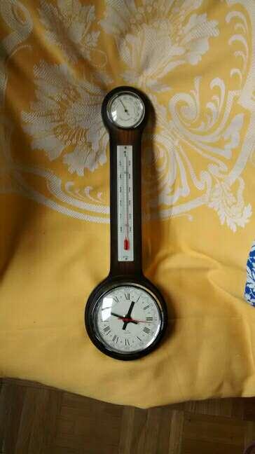 Imagen Reloj- Termómetro e Higrómetro