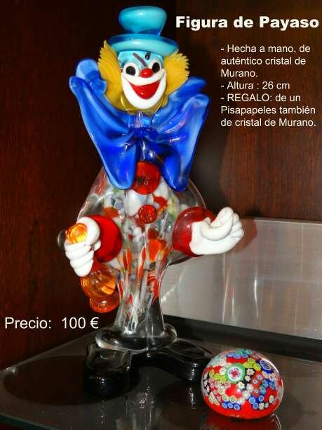 Imagen Payaso cristal de MURANO