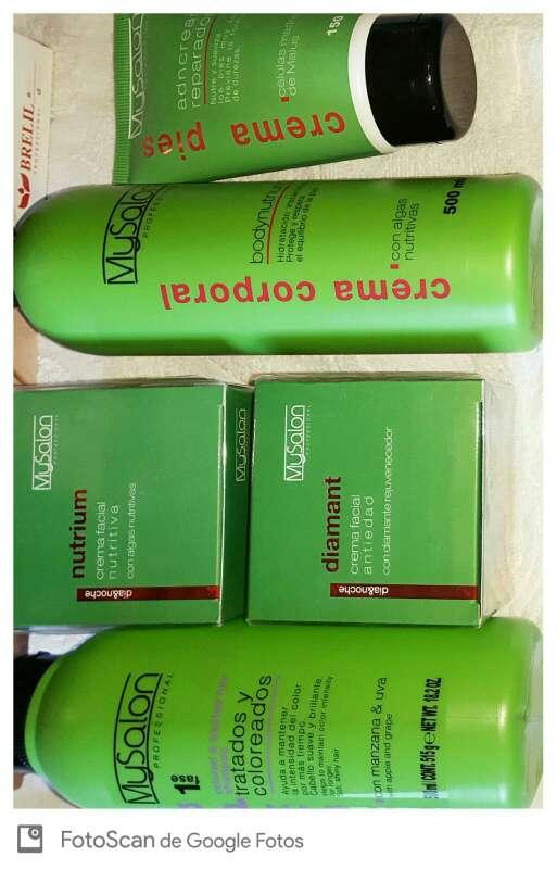 Imagen Productos Profesionales para la piel y cabello