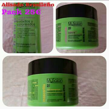 Imagen Cremas nutritiva para alisado brasileño Keratina 3x