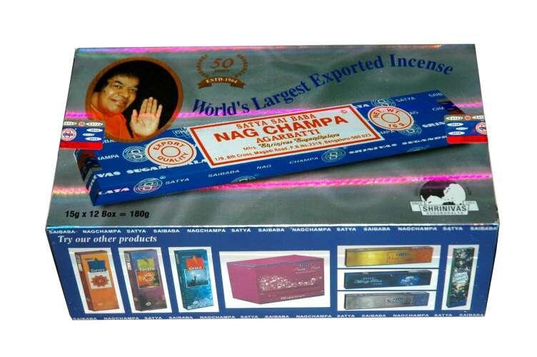 Imagen producto Caja de inciensos Nag Champa 2