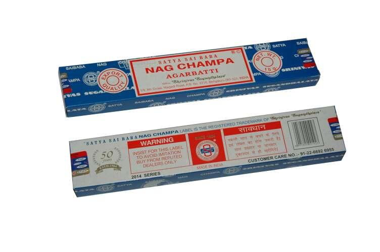Imagen producto Caja de inciensos Nag Champa 4