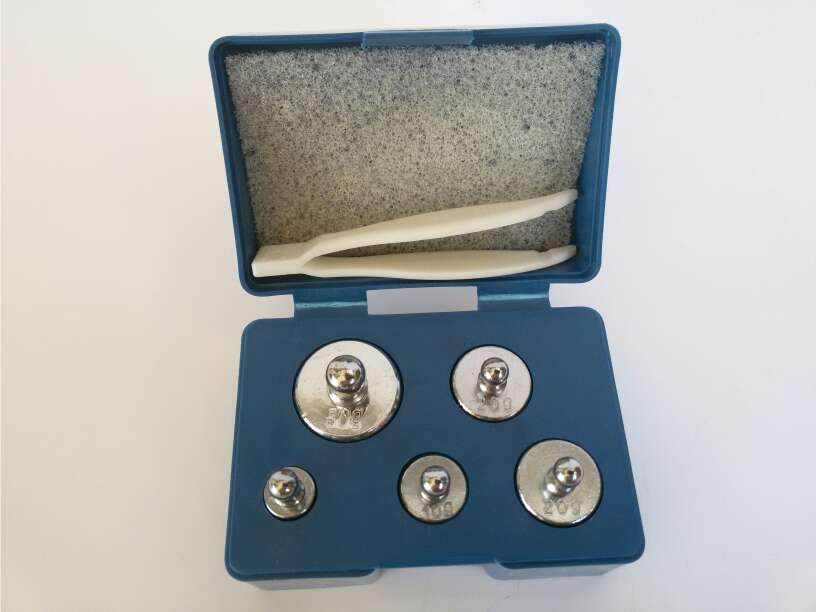 Imagen producto Pesas de calibración bascula de precision 4