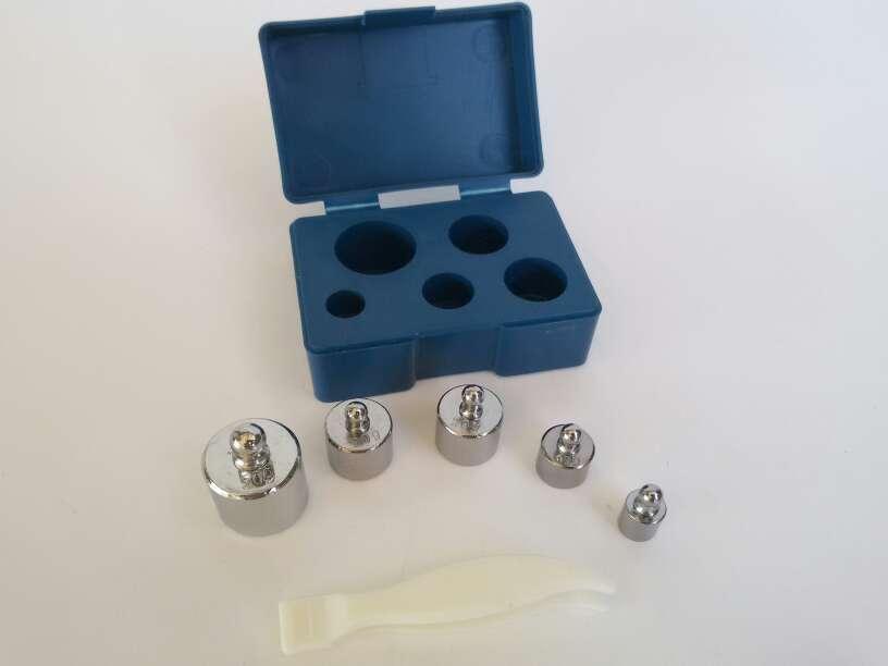 Imagen producto Pesas de calibración bascula de precision 2