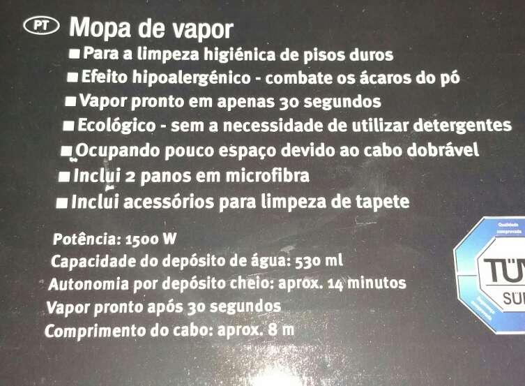 Imagen producto Mopa a, vapor grande silvercrest nueva a estrenar  2