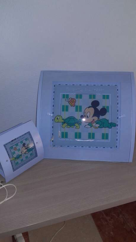 Imagen Pareja de lámparas Mickey.