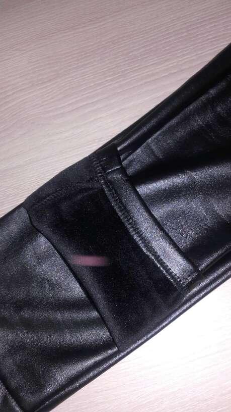 Imagen producto Pantalón negro de cuero 3