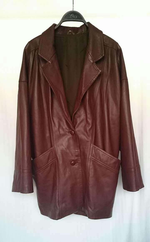 Imagen producto Vintage Abrigo Piel Corte Inglés  3