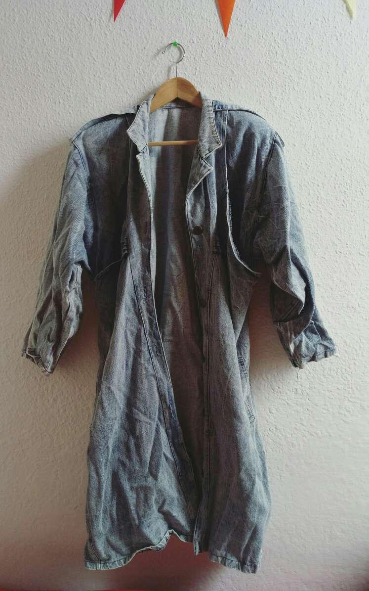 Imagen Abrigo vaquero vintage (Jeans) S/M