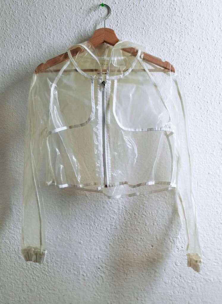 Imagen producto Chaqueta plastico transparente BS' 1