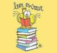 Imagen Libros...porque leer es crecer.