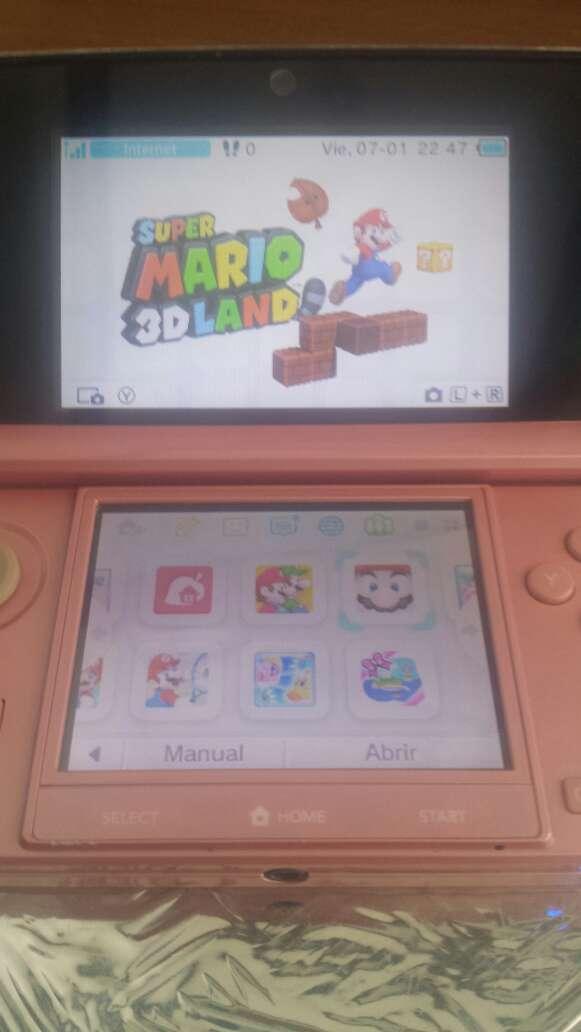 Imagen Consola nintendo 3ds + 17 juegos + cargador