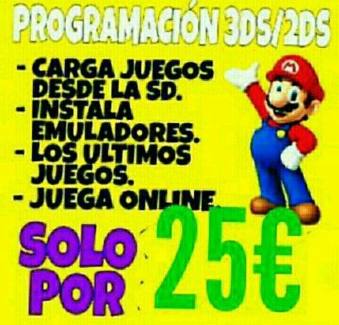 Imagen producto Liberamos nintendo 3ds 2ds new3ds 1