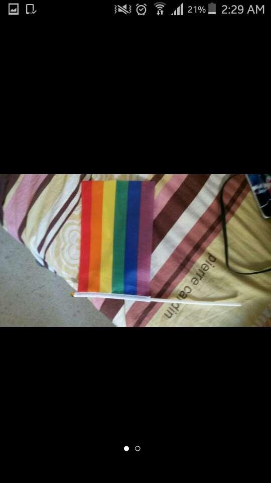 Imagen bandera del orgullo