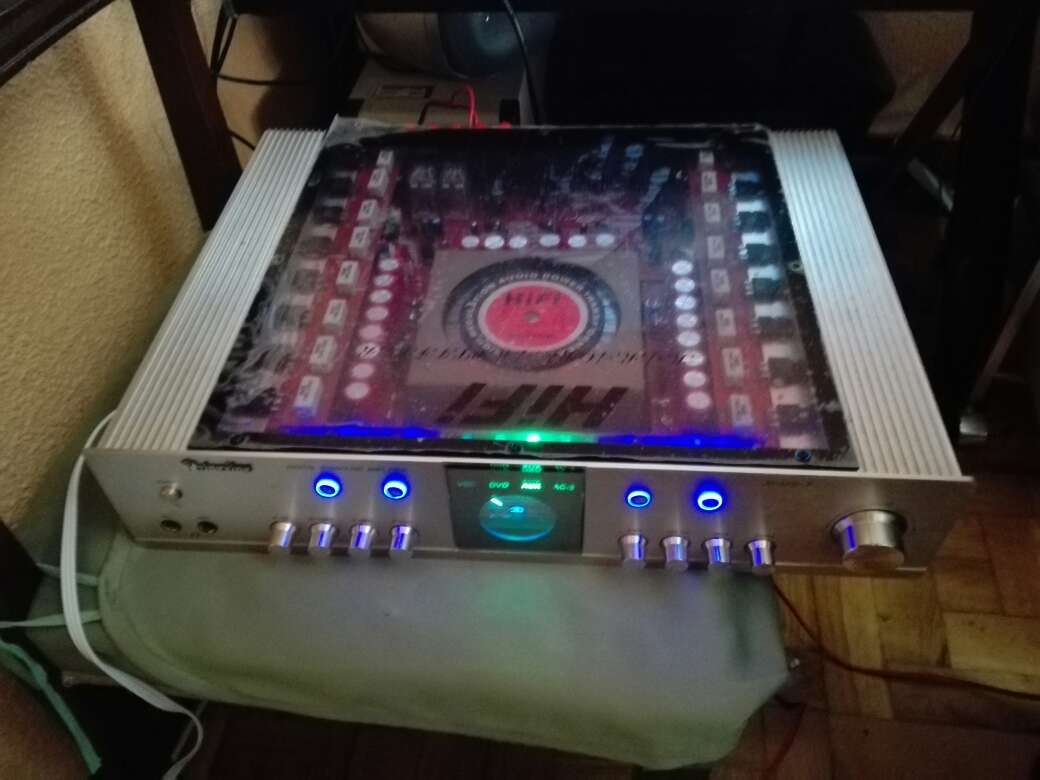 Imagen equipo de sonido para casa (hi-fi)