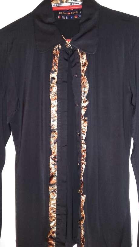 Imagen Camisa negra PETER COOK