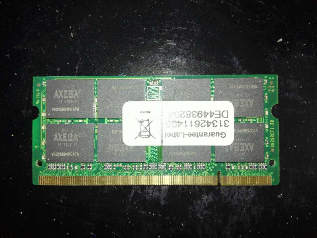 Imagen Memoria Ram Ddr2 (1GB)