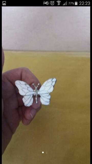 Imagen vendo mariposa anillo