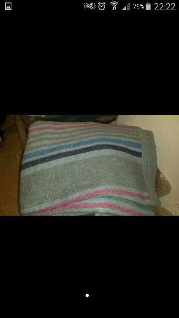 Imagen vendo manta de lana