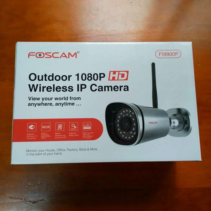 Imagen cámara IP exterior Foscam