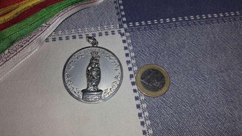 Imagen producto Medalla virgen del Pilar+cintas 2