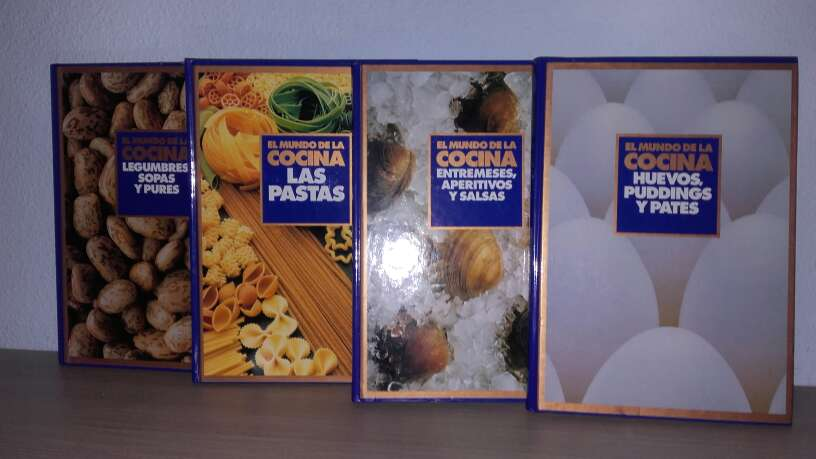 Imagen producto Colección libros de cocina 2